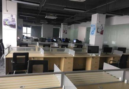 (出租) 出租高新区艾溪湖地铁口泰豪科技广场500平精装修写字楼